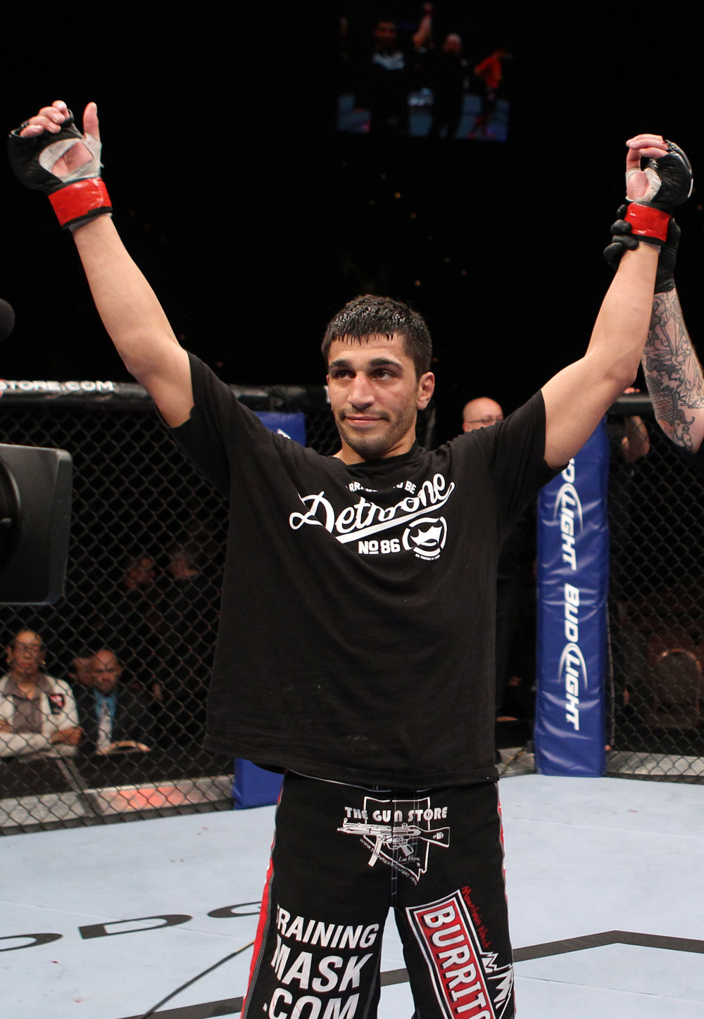 Ramsey Nijem after his win