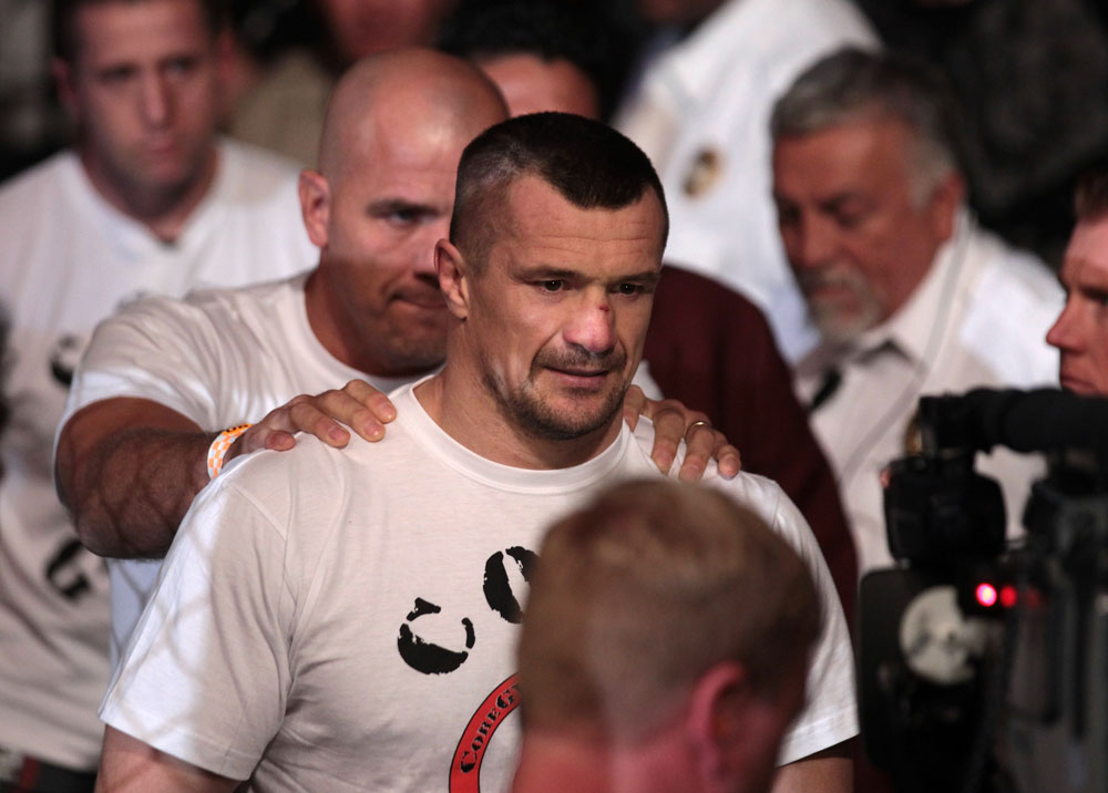 Mirko Cro Cop enters the arena