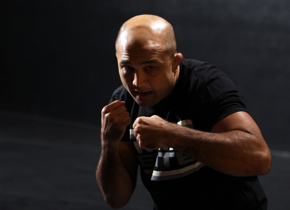 UFC welterweight BJ Penn