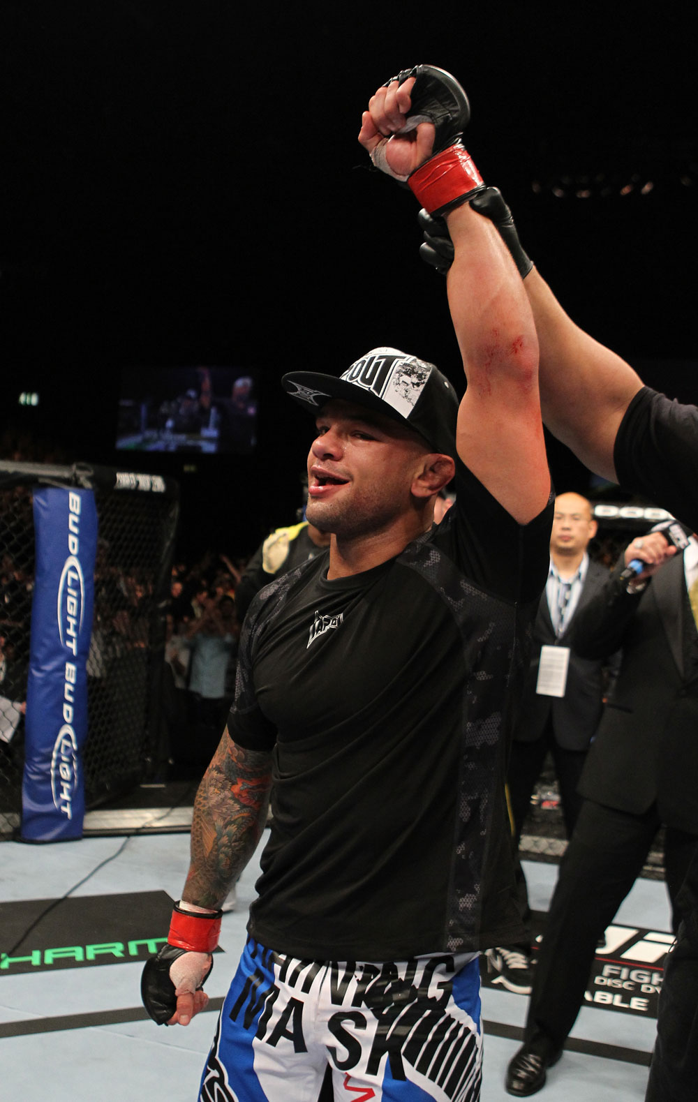 Thiago Alves after his win over Papy Abedi