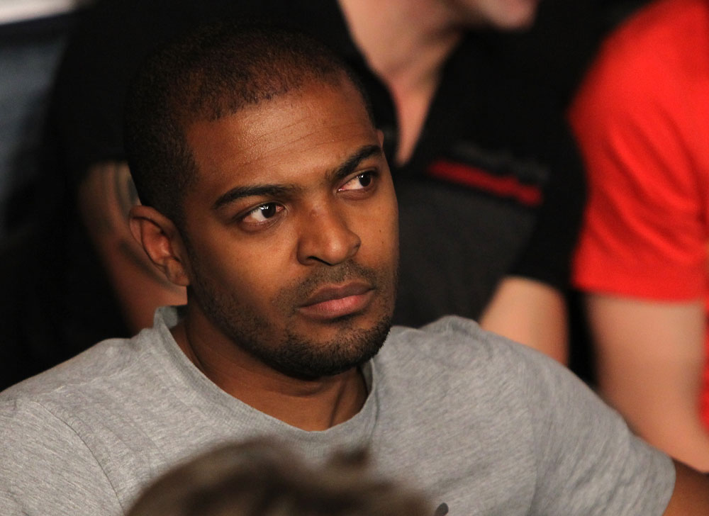 Actor and director Noel Clarke attends UFC 138