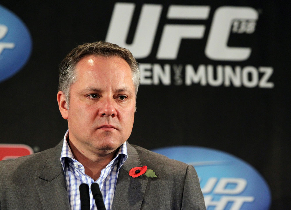 UFC Managing Director of International Development Marshall Zelaznik