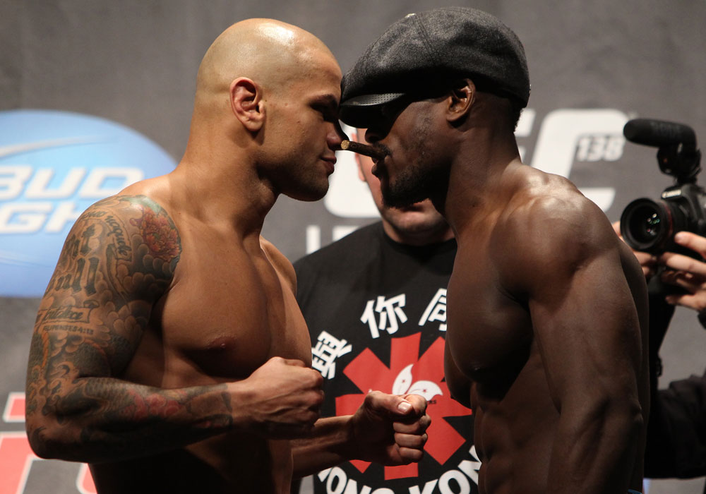 Thiago Alves vs Papy Abedi