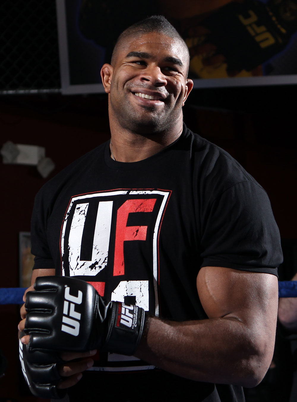 UFC heavyweight Alistair Overeem