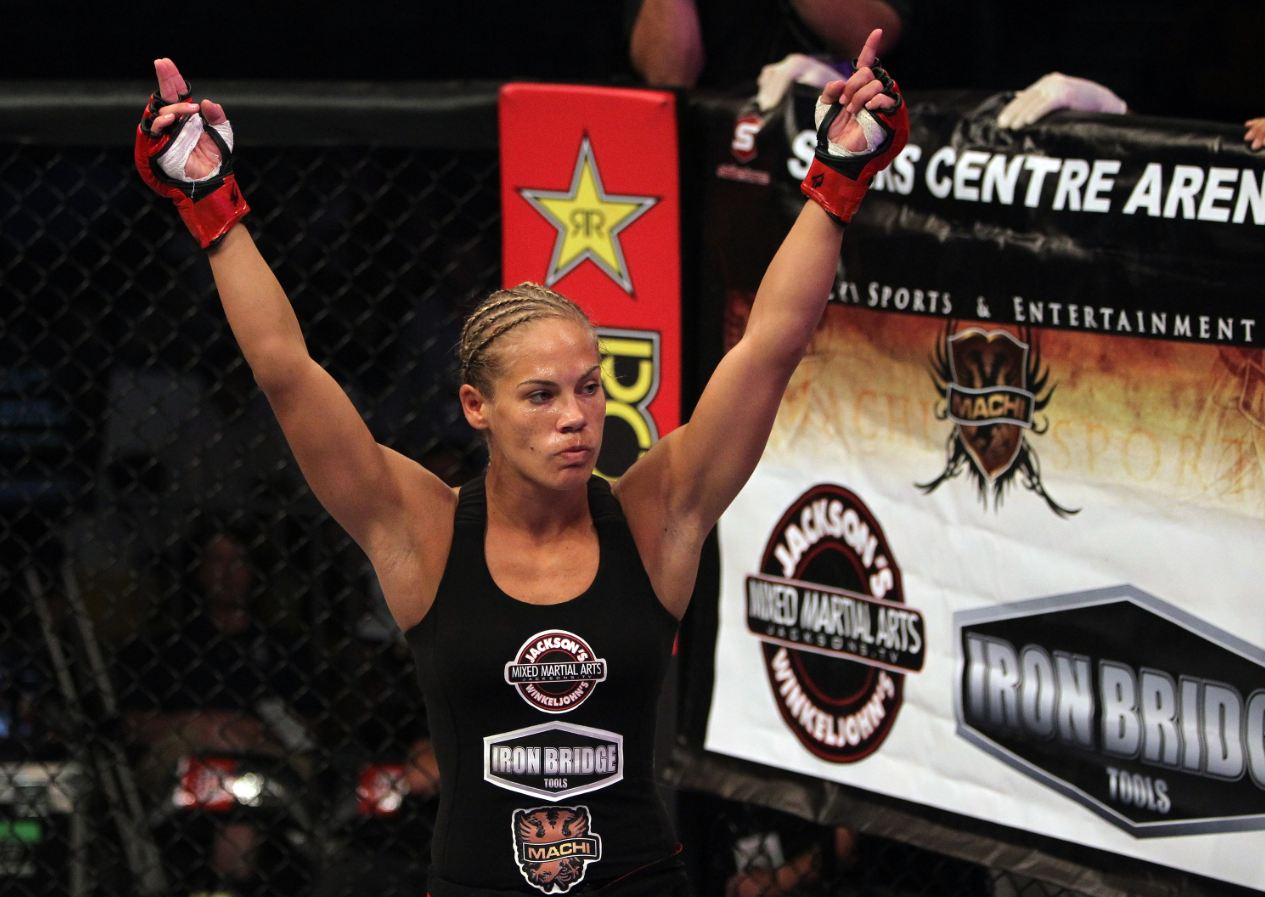 Strikeforce bantamweight Julie Kedzie