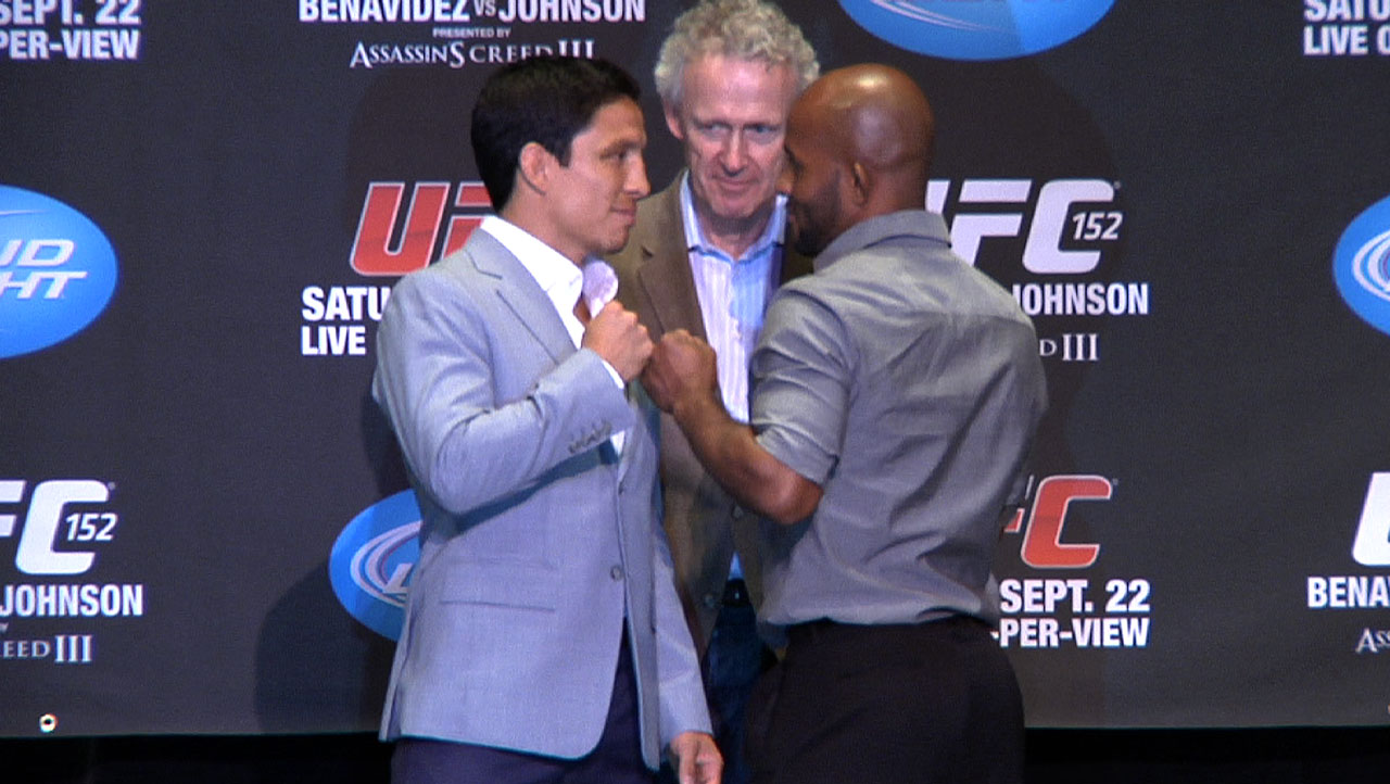UFC 152 co-main event - Benavidez vs. Johnson