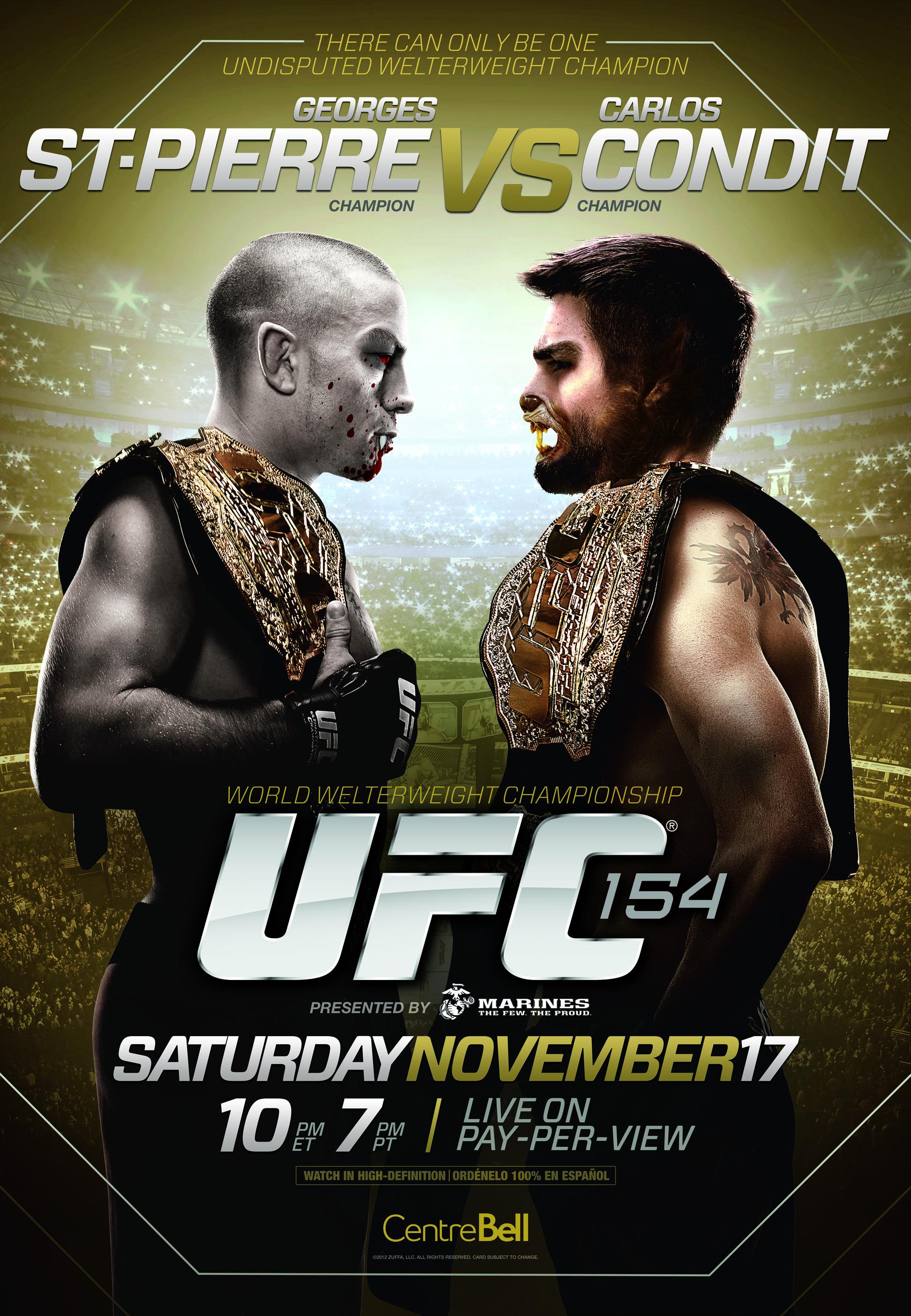 UFC 154 Stars T...