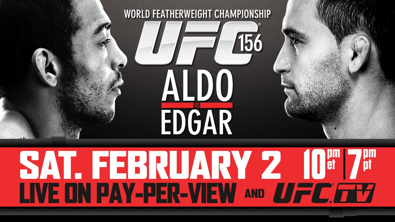 UFC 156 - Aldo vs. Edgar