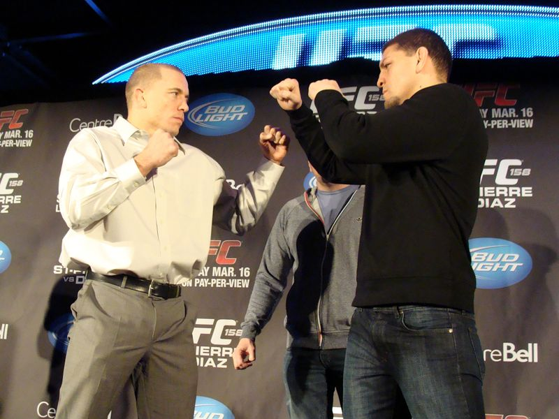 UFC 158 - St-Pierre vs. Diaz