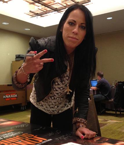 UFC bantamweight Sheila Gaff