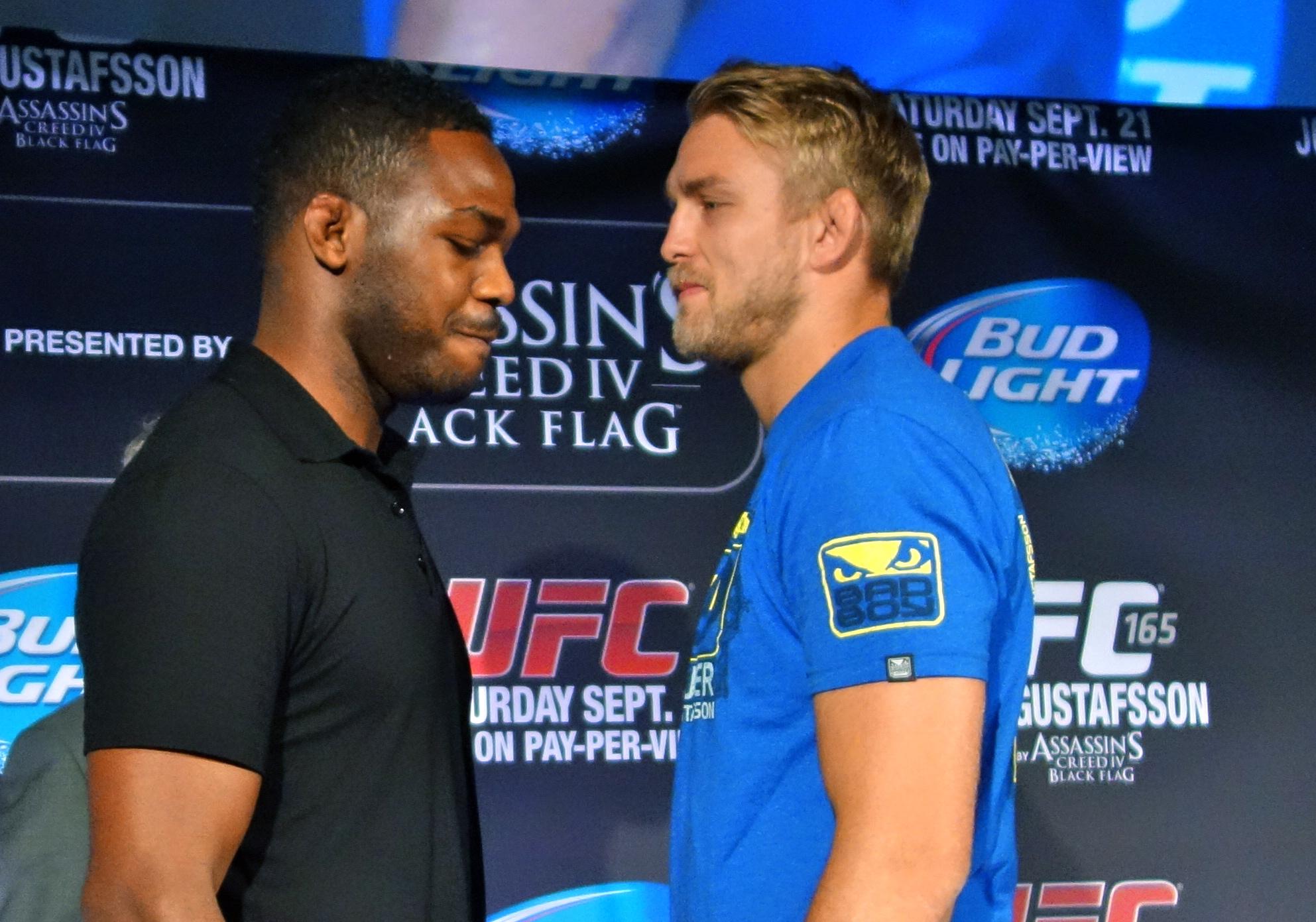 UFC 165: Jones vs. Gustafsson