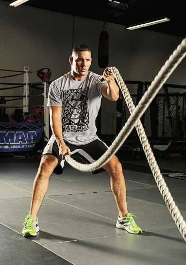 Weidman: a weight-room pro