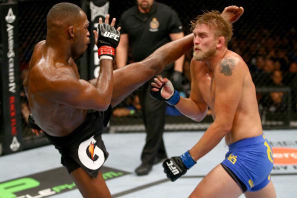 Jones kicks Gustafsson
