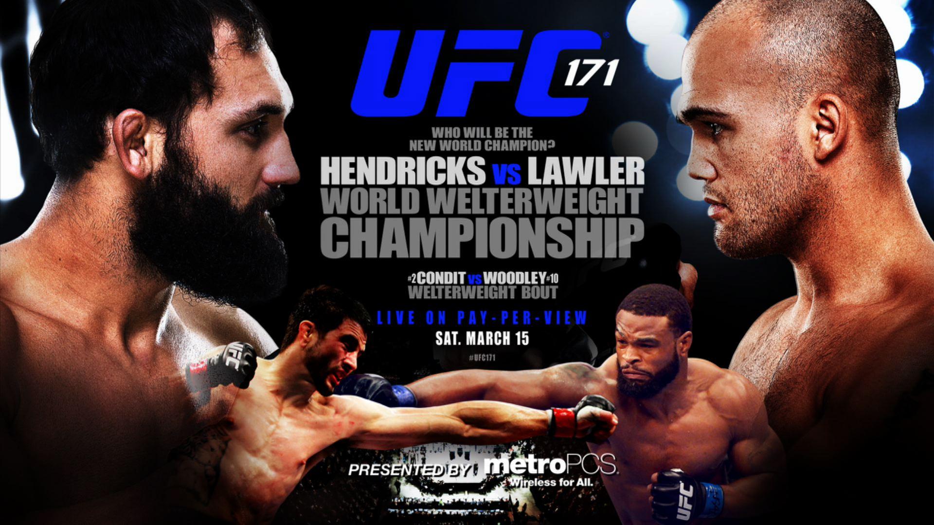 UFC 171  UFC 171