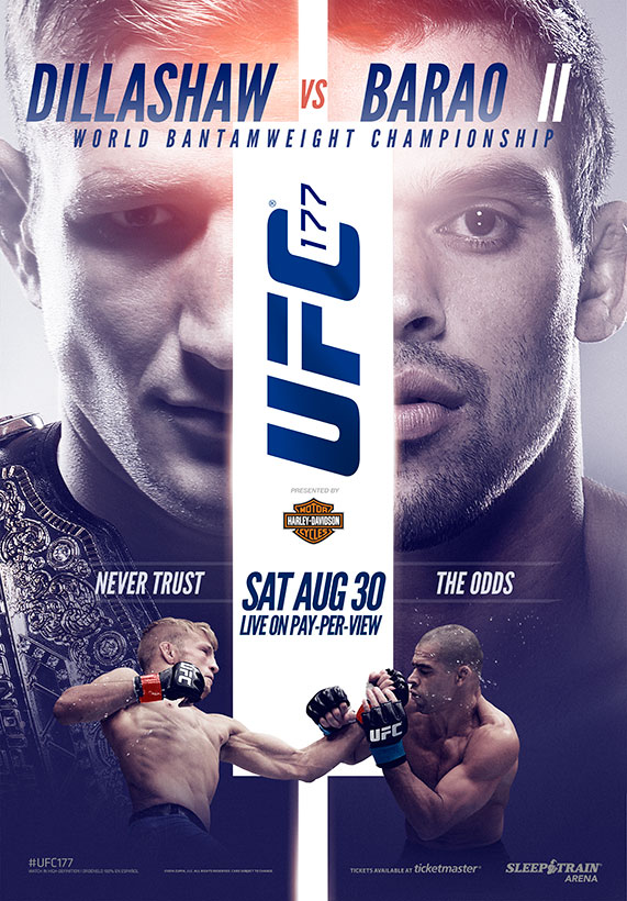 The Downes Side: UFC 177 Predictions