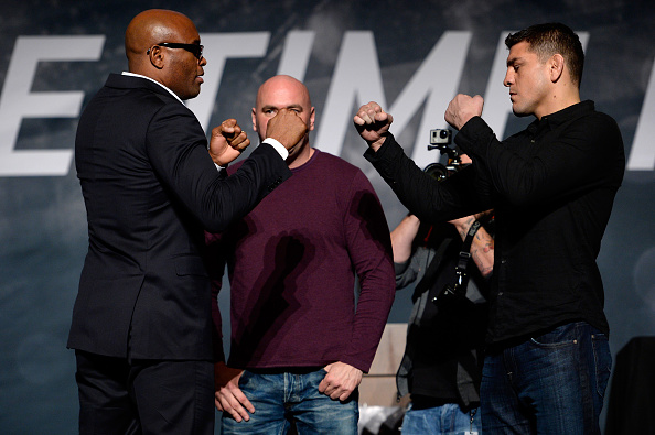 Diaz faces off against Anderson Silva