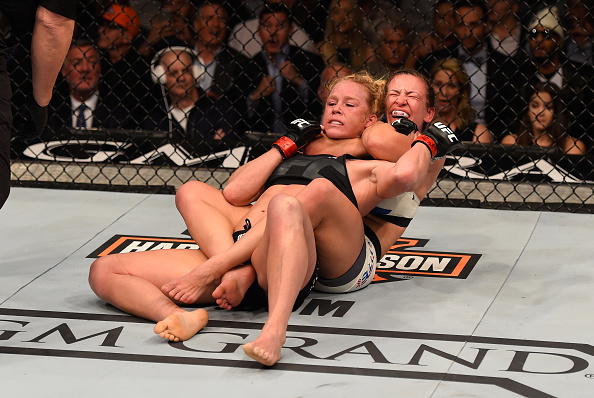 Miesha Tate's submission over Holly Holm was the biggest of her career, as it earned Tate UFC gold