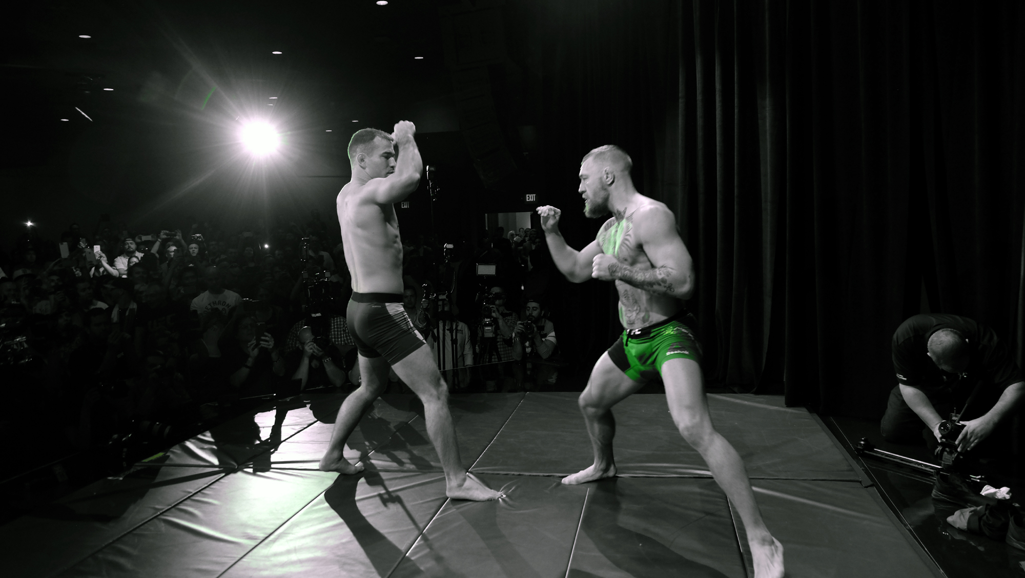 Conor Mcgregor Wallpaper Black And White: The Downes Side – UFC 196 Predictions