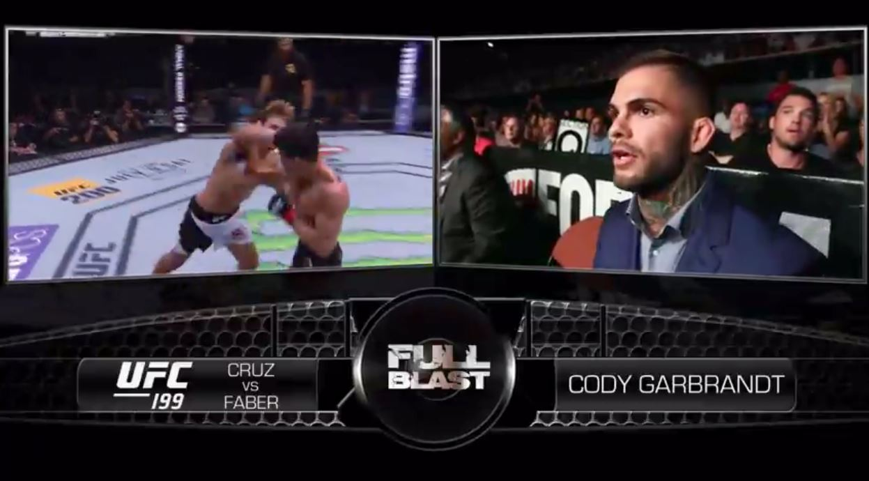 ufc 207 cody garbrandt full blast cruz vs faber 3 ufc media