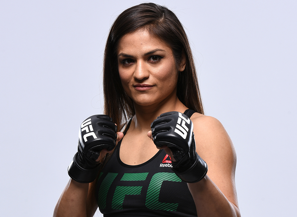 Just a month after making her UFC debut, Cynthia Calvillo will appear on the main card of UFC 210 on Saturday night