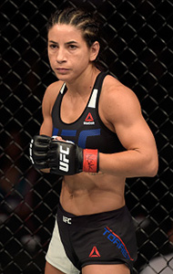 Tecia Torres at <a href='../event/The-Ultimate-Fighter-T-Rampage-vs-T-Forrest-Finale'><a href='../event/The-Ultimate-Fighter-Finale-Team-Nog-vs-Team-Mir'><a href='../event/The-Ultimate-Fighter-Team-Liddell-vs-Team-Ortiz-FINALE'><a href='../event/TUF13-finale'><a href='../event/the-ultimate-fighter-a-champion-will-be-crowned'>The Ultimate Fighter Finale </a></a></a></a></a>on July 7, 2017 in Las Vegas, Nevada. (Photo by Brandon Magnus/Zuffa LLC)