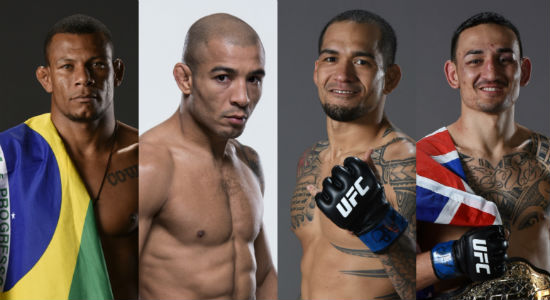 Alex Oliveira and Jose Aldo of Brazil both take on Hawaiians in Yancy Medeiros and Max Holloway at UFC 218