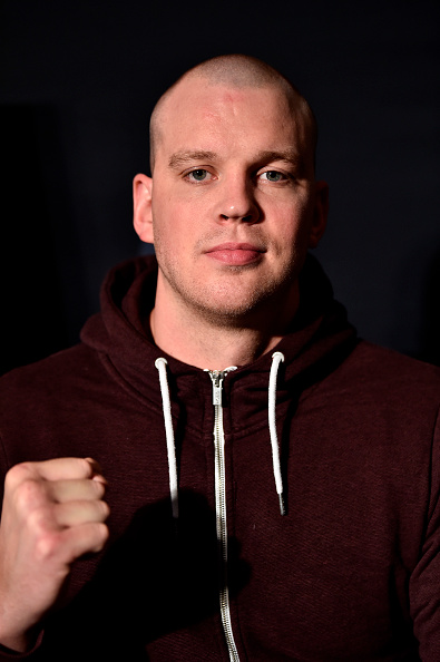 Struve during the UFC 222 <a href='../event/Ultimate-Brazil'>Ultimate </a>Media Day on March 1, 2018 in Las Vegas, NV. (Photo by Jeff Bottari/Zuffa LLC)