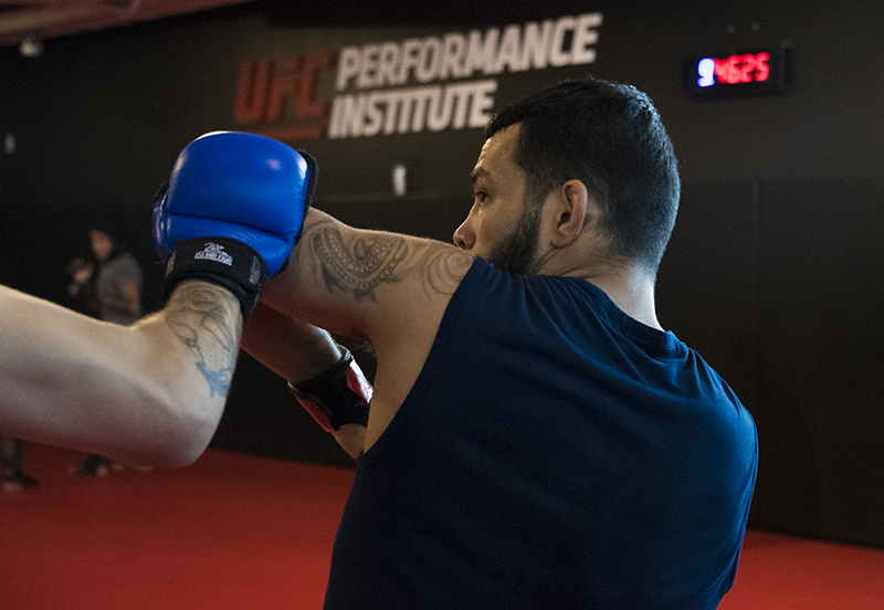 Las Vegas 5/18/18 - UFC fighter Dan Ige at the UFC Performance Institute in las Vegas. (Photo credit Juan Cardenas)