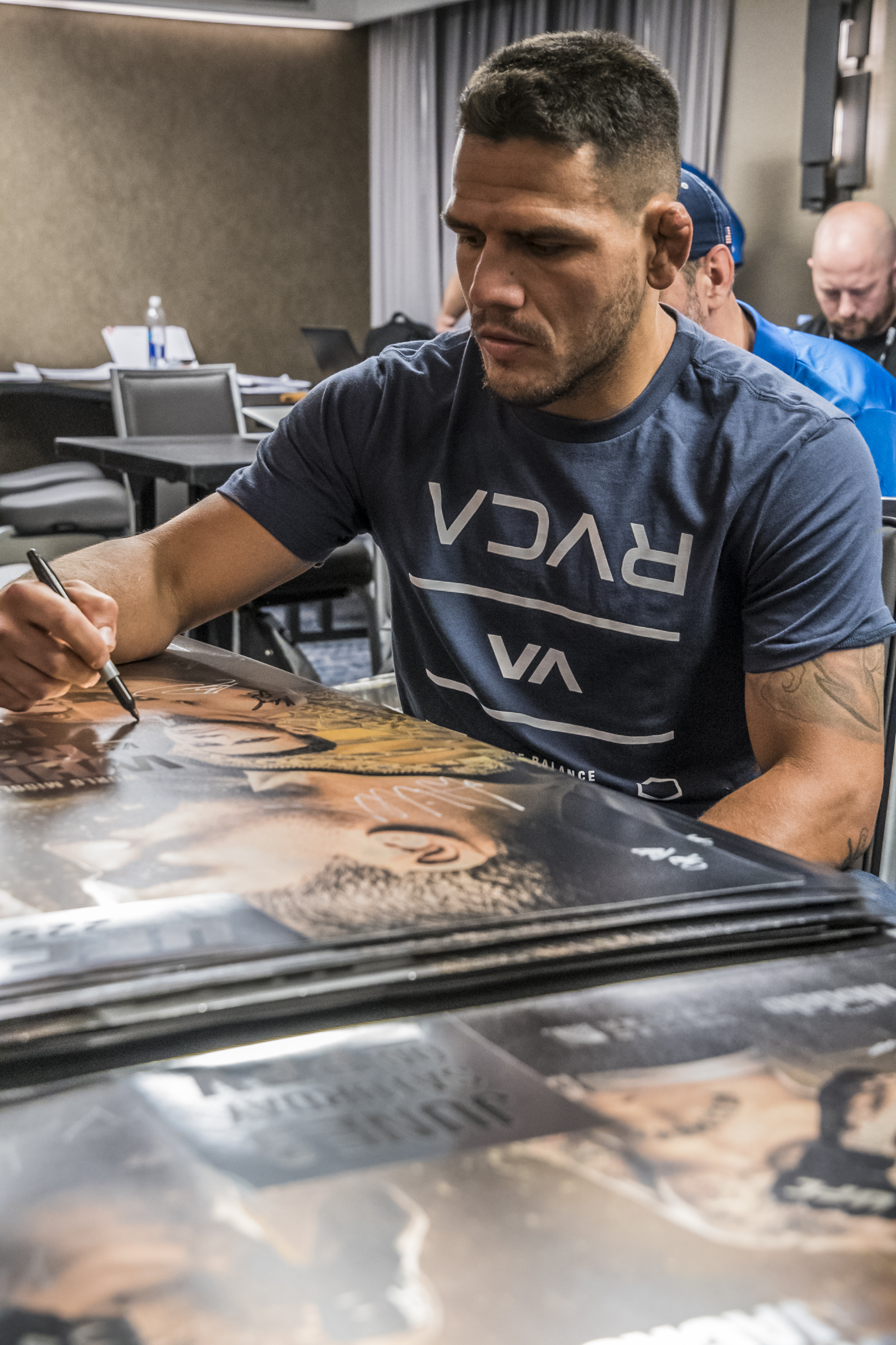 RDA at UFC 225 check-ins (Photo by Juan Cardenas/Zuffa LLC)