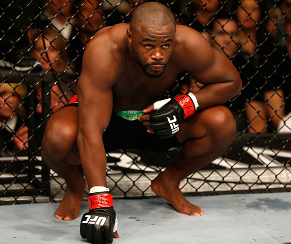 Rashad Evans prepares to face Chael Sonnen at UFC 167. (Photo by Josh Hedges/Zuffa LLC)