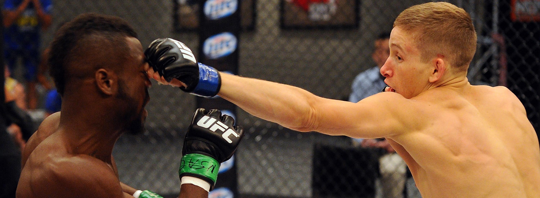 UFC bantamweight Chris Holdsworth