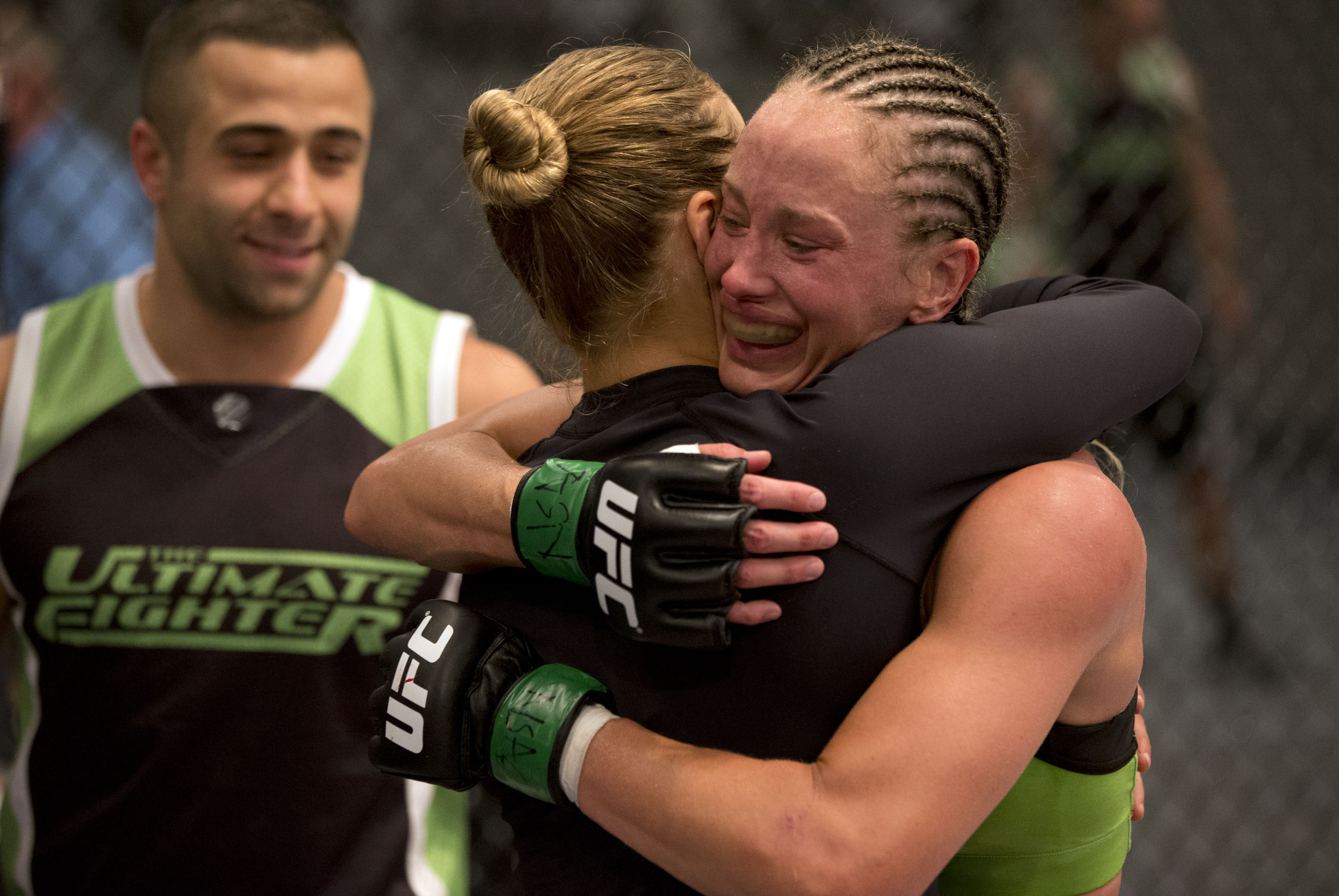 Rakoczy celebrates with Ronda