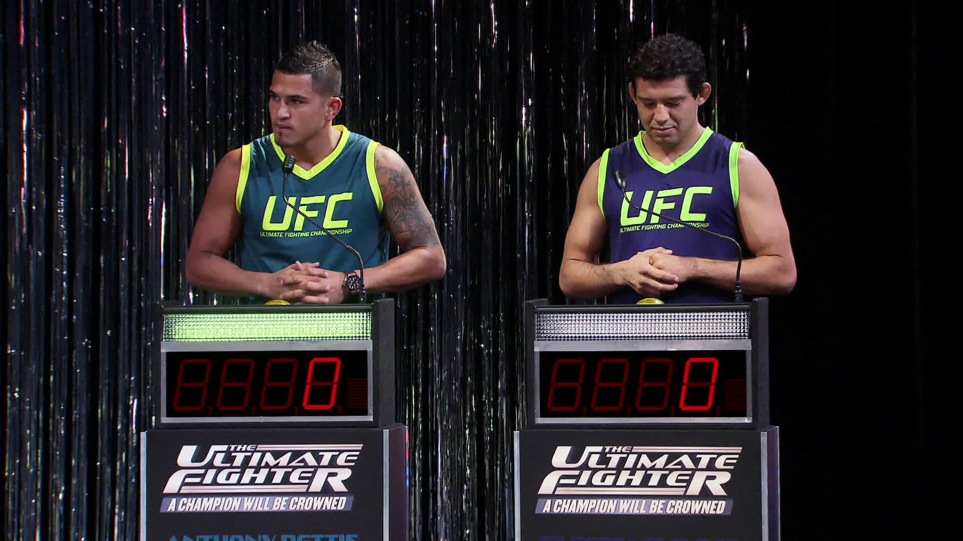 Pettis and Melendez face off in the Coaches' Challenge