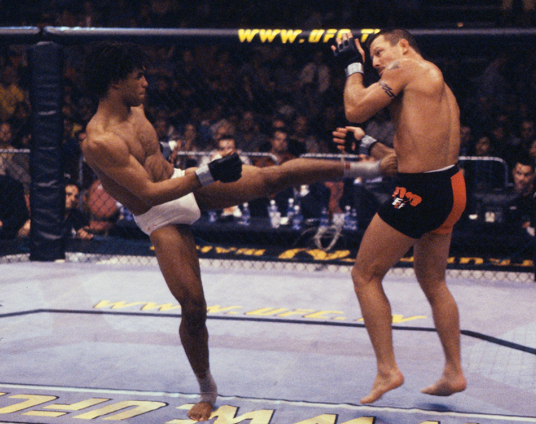 Miletich in his loss to Newton