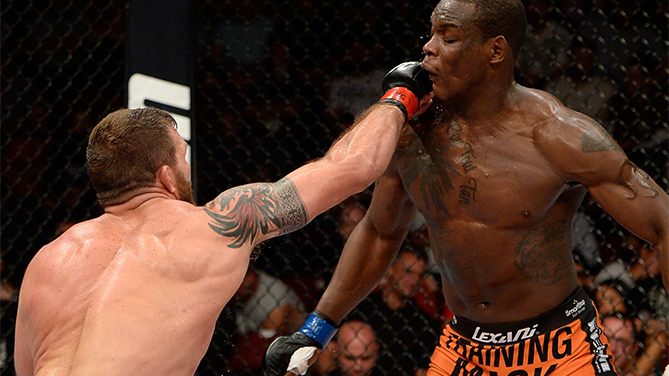 Ryan Bader vs. Ovince Saint Preux