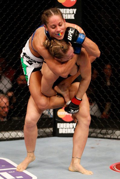 Carmouche vs. Rousey