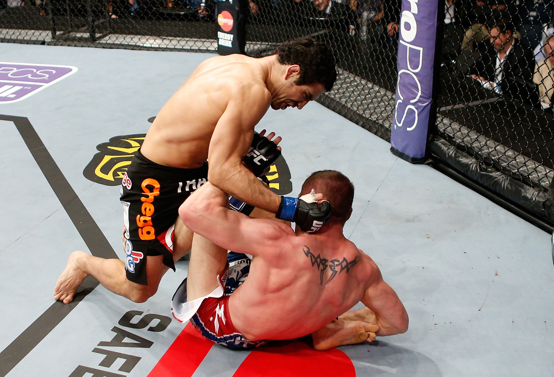 Castillo punches Sass