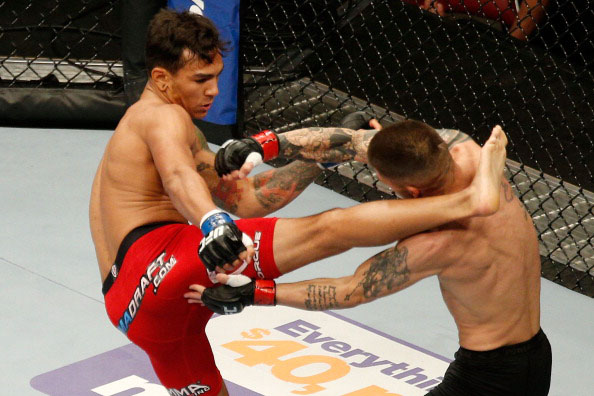 Fili impressed in his UFC debut