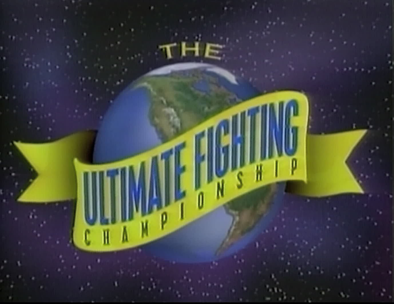 The original UFC logo