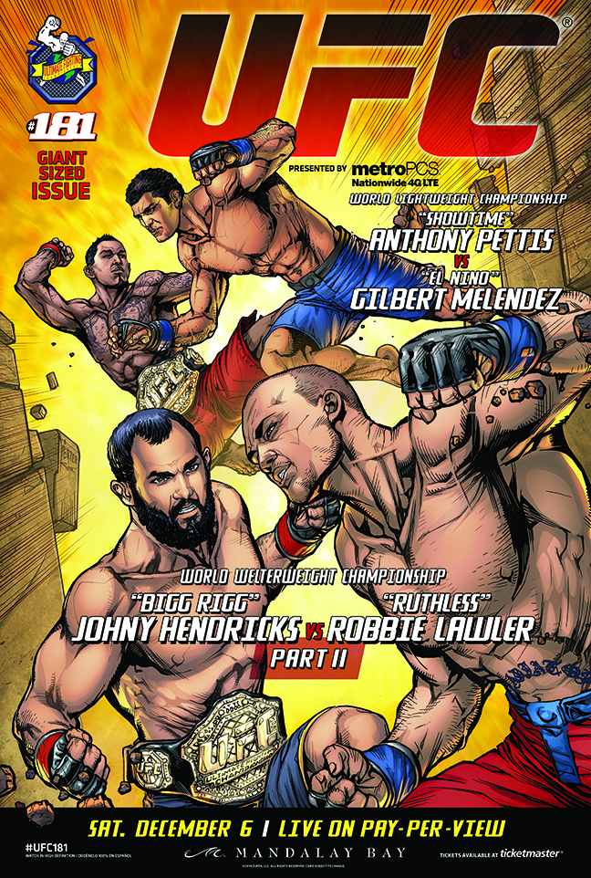 UFC 181's Fab Four Meet in Vegas