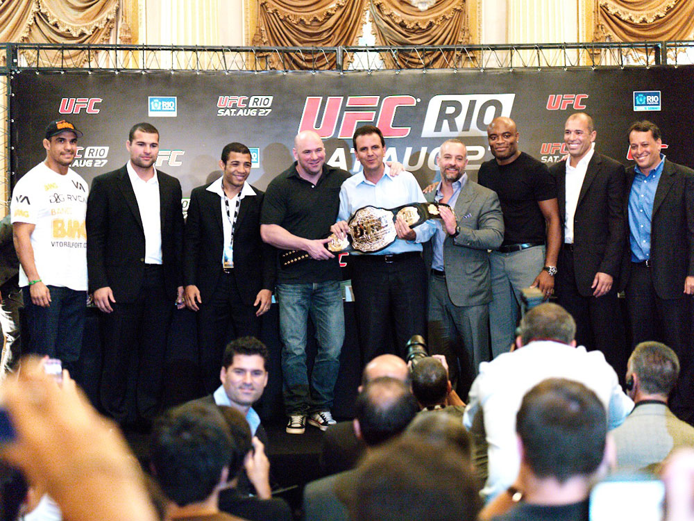 UFC Rio Press Conference
