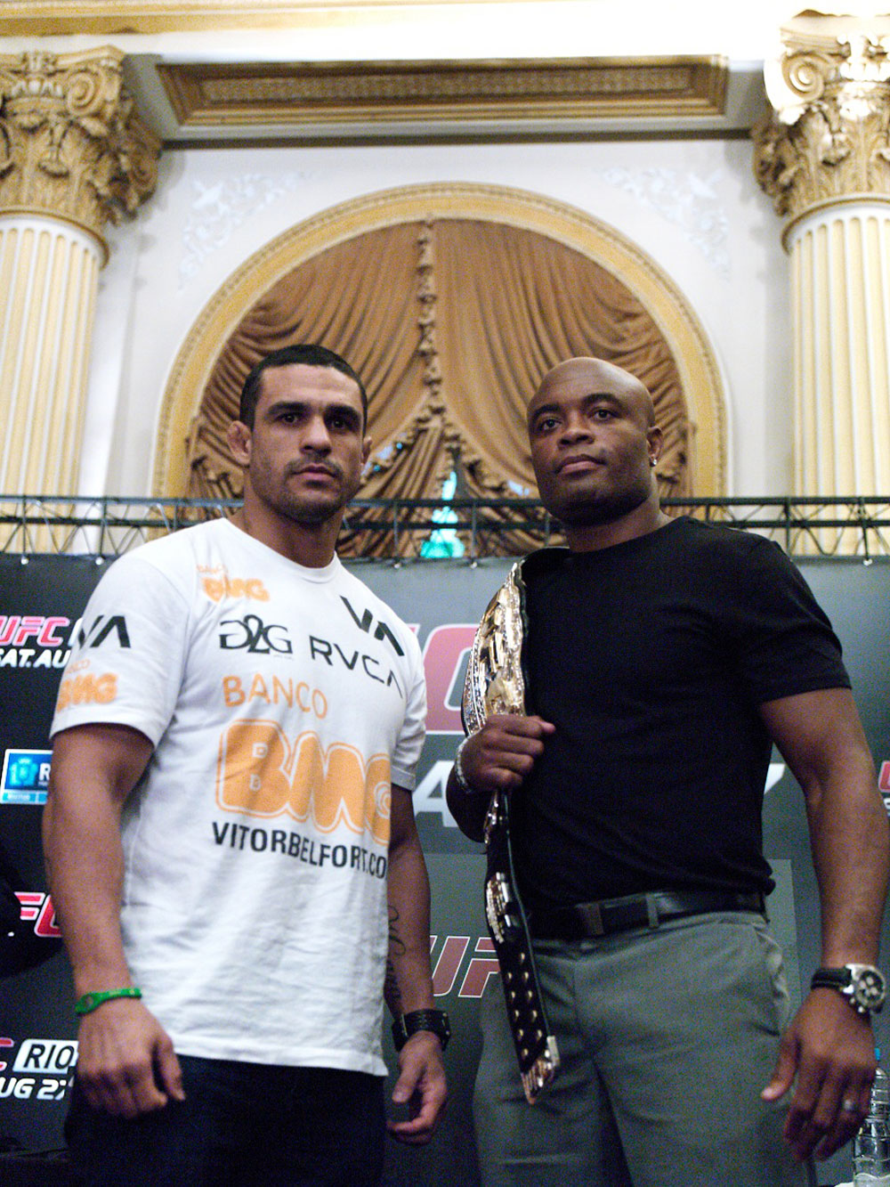 Vitor Belfort &amp; Anderson Silva