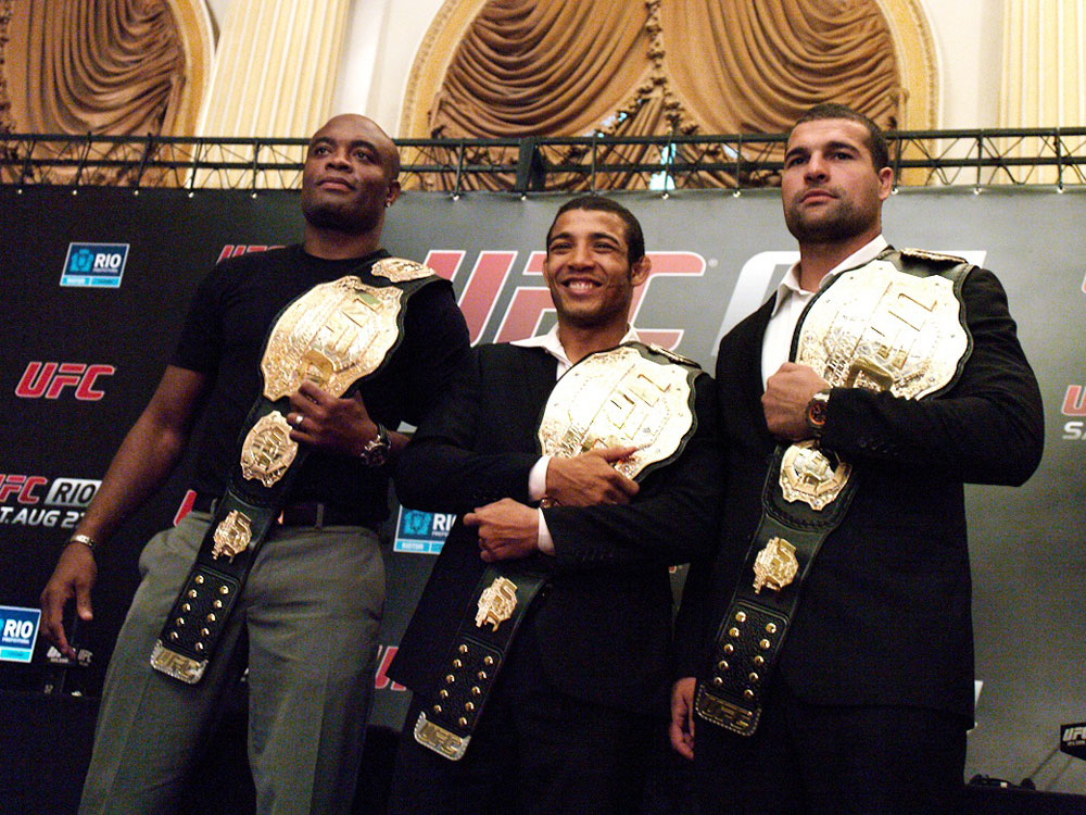 Anderson Silva, Jose Aldo &amp; Shogun Rua