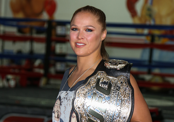 Ronda Rousey became the UFC's first female champion in 2013