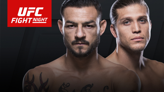 Cub Swanson and Brian Ortega meet in the main event of Fight Night Fresno on Dec. 9