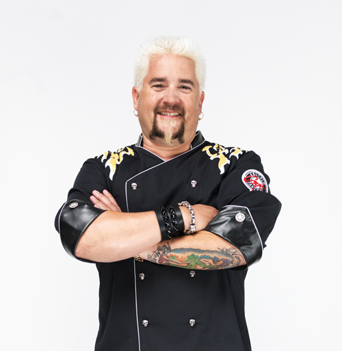The Food Network's Guy Fieri
