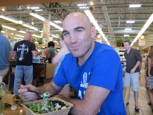 UFC welterweight Brian Ebersole