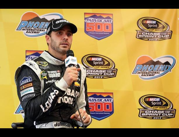 Nascar star Jimmie Johnson