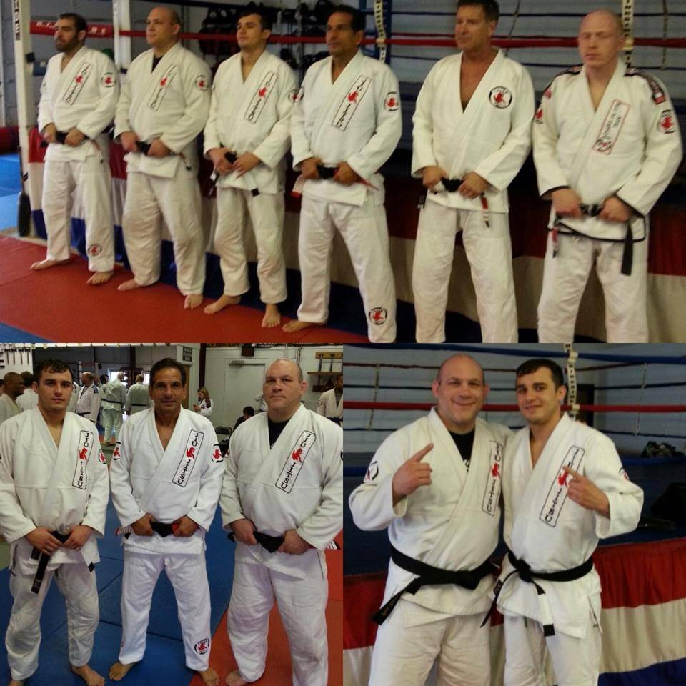 Lightweight Myles Jury receives his BJJ black belt