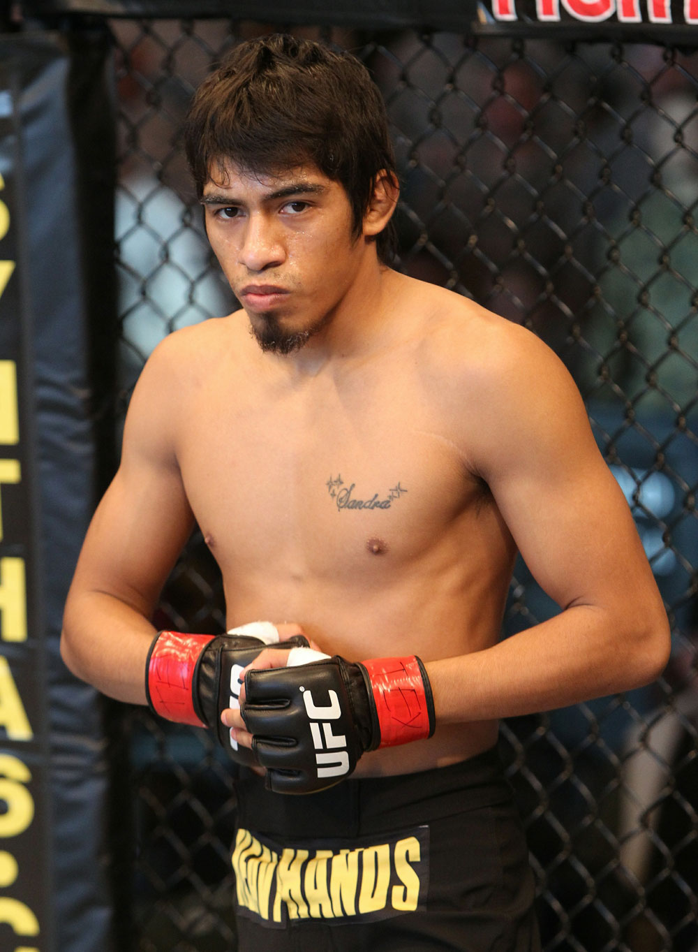 Campuzano before his fight with Cariaso.
